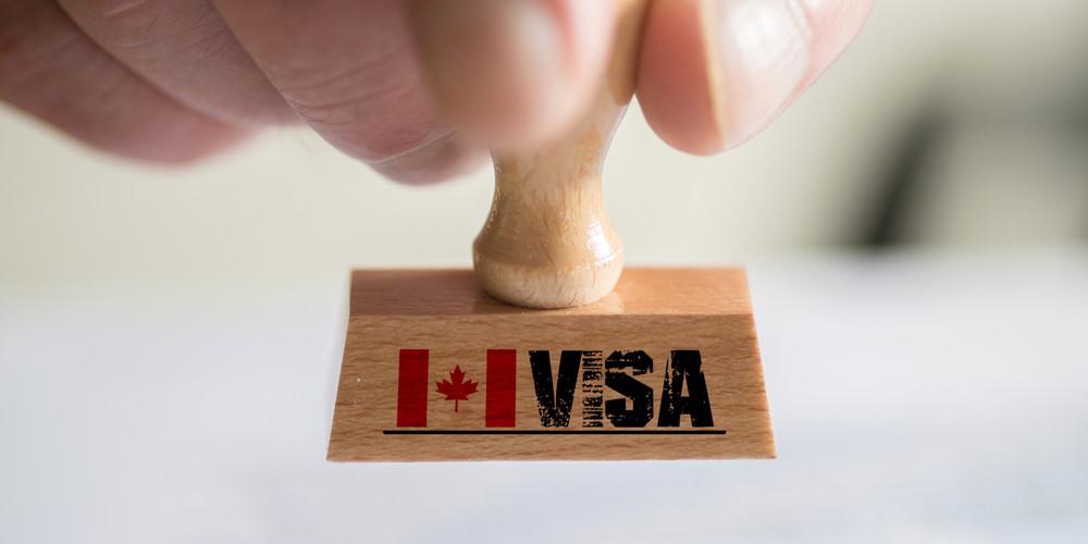Печать для визы Канады