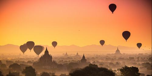 12 Инстаграмных мест Мьянмы