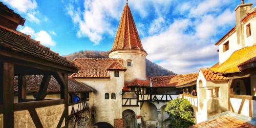 Румыния - Влад Цепеш, Замок Бран и путь к ним