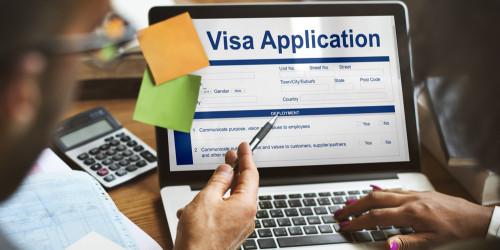 Процесс получения электронной визы в Украину