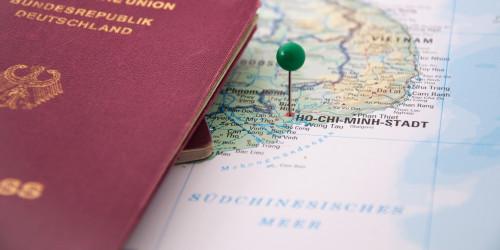 Процесс получения электронной визы Вьетнама