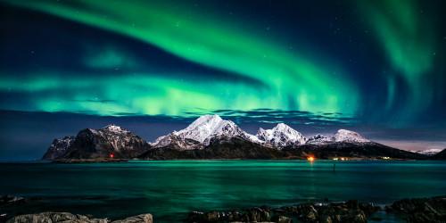 Волшебный мир - северное сияние